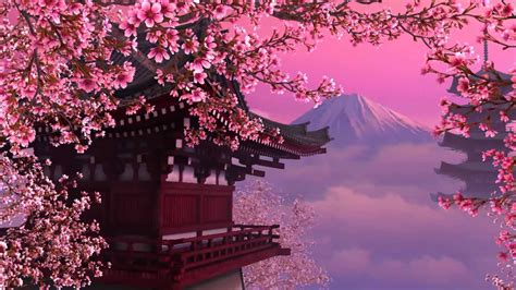 Enjoy The Collection Of Beautiful Wallpapers Cherry Blossoms