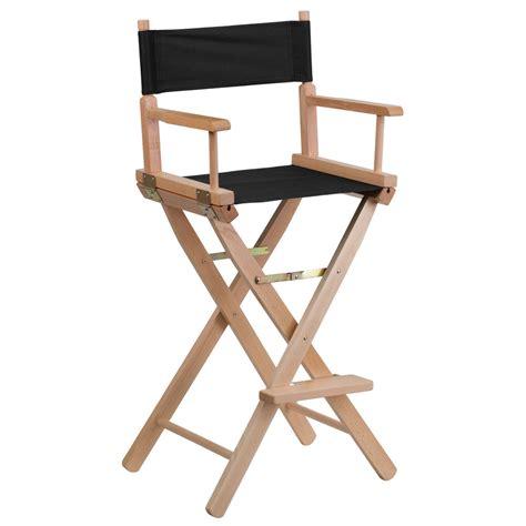 bar height folding directors chair ebay
