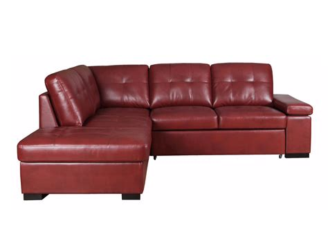 Red Sectional Sleeper Sofa Hickory Hill Red Sectional Twin