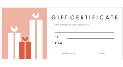 Make Your Own Gift Certificate Template 8 best images of print your own gift certificates make