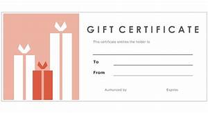 9 best images of make your own gift certificates free With design your own certificate templates free