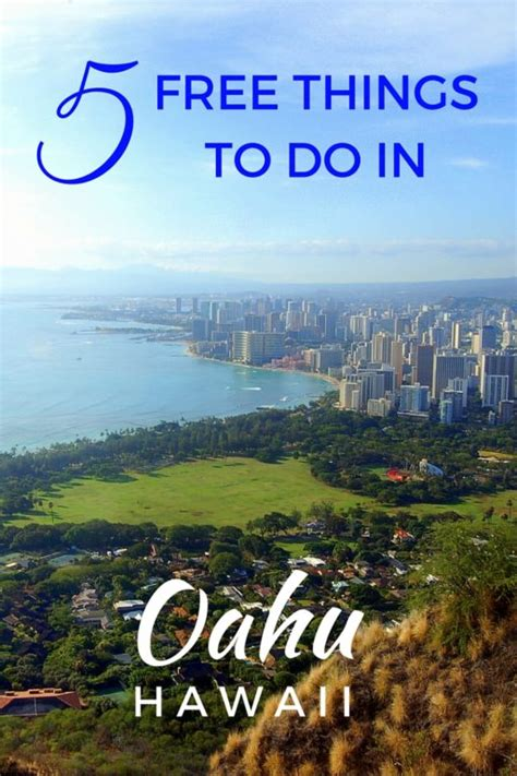 5 Free Things To Do In Oahu, Hawaii  The World Is A Book