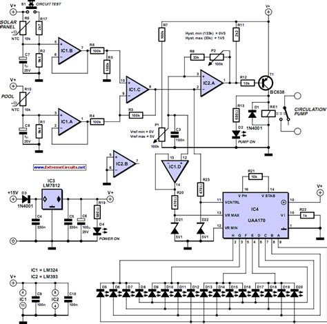 Temperature Sensitive Switch For Solar Collector Circuit