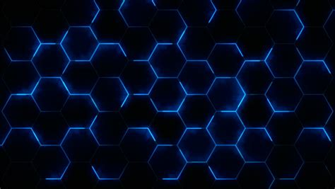 futuristic abstract hexagonal grid background stockvideos