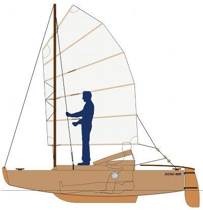 Scow Sailboat by 17 Best Images About Cruising Scow Sailboats Cers