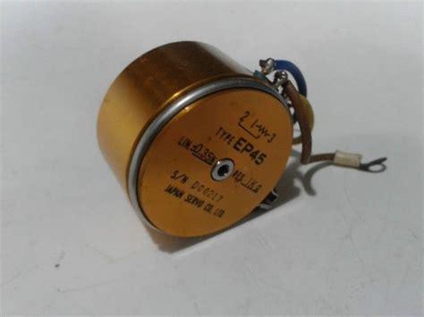 JAPAN SERVO CO LTD EP45 POTENTIOMETER position conductive ...
