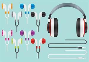 Audio Ear Buds Vectors - Download Free Vector Art, Stock ...