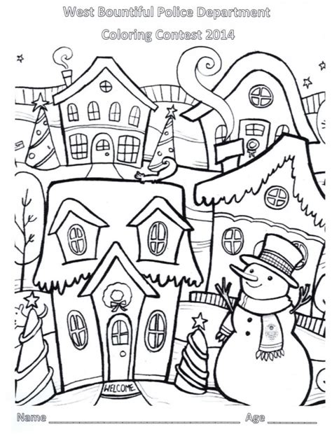 Coloring Contest by Contest Coloring Pages
