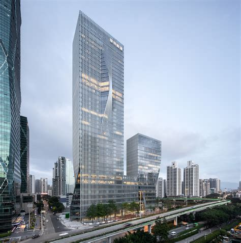 big completes   shenzhen energy mansion skyscraper