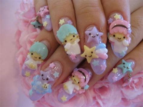 kitty  nail art  girls beauty salon