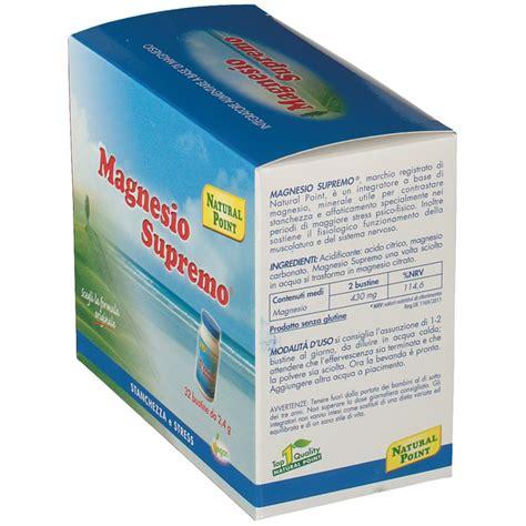 magnesio supremo prezzo magnesio supremo 174 bustine shop farmacia it