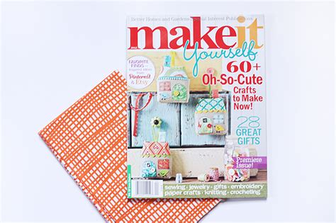 Make It Yourself Magazine Better Homes And Gardens magazines and doughnuts noodlehead