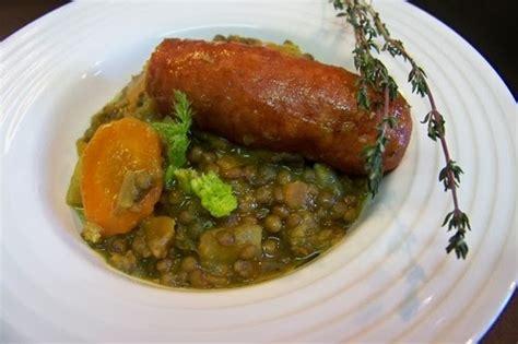 cuisine lentilles vertes cuisine en folie lentilles vertes et lentilles corails au curry saucisses de morteau