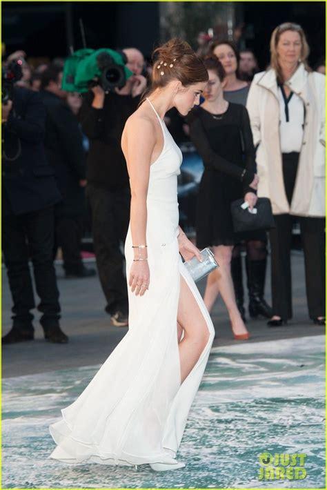 Emma Watson Douglas Booth Take Noah Home London