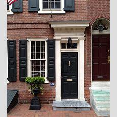 Door Inspiration Philadelphia, Society Hill Historic