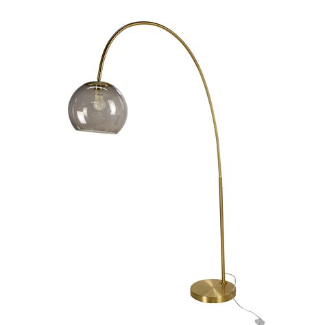 arc floor l with diffuser arc floor l living room contemporary with gold area