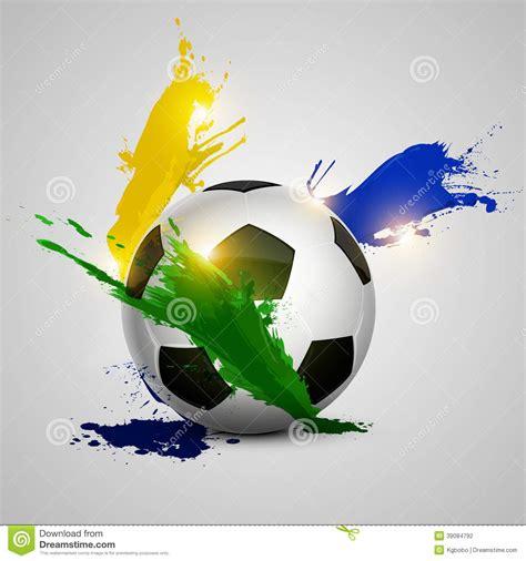 foto de Splatter soccer ball stock vector Illustration of ball