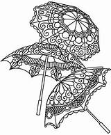Embroidery Steampunk Urban Urbanthreads Victorian Parasols Delicate Coloring Threads Adult Subcultures Awesome Unique Styles Printable sketch template