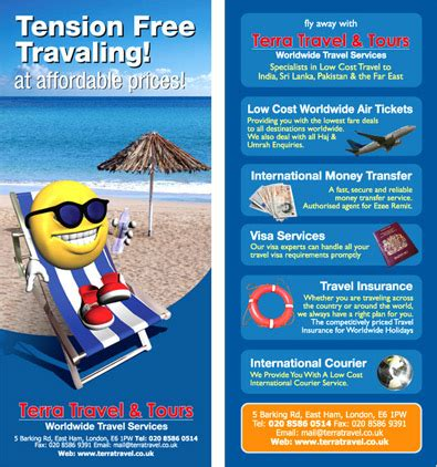 travel agency flyer designs flyer designs compnay london