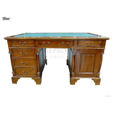 Antique Writing Desks Australia by Empire Partner S Desk 150cm Antique Reproduction Writing