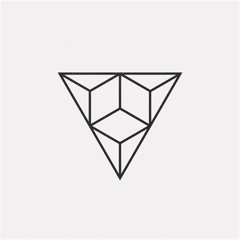 geometric triangle design a new geometric design every day triangles minimal graphics pinterest geometric