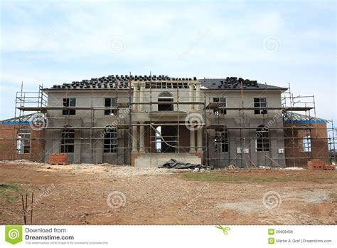 contemporary style house plans manor house construction royalty free stock image image