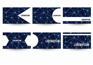 Neuron Theme Business Card Template Set