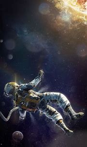 Astronaut Wallpaper for iPhone 11, Pro Max, X, 8, 7, 6 ...