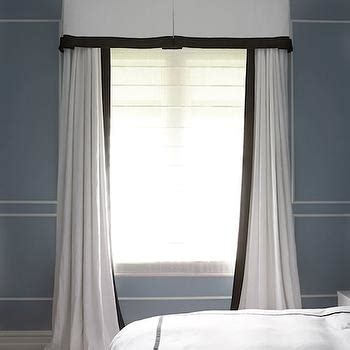 white curtains with navy trim white with black trim curtains curtain menzilperde net