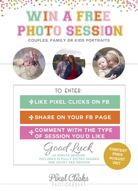 Win A Free Photography Session!  Marvelous Mommy
