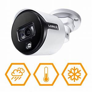 Lorex 4k Ultra Hd Active Deterrence Security Camera With