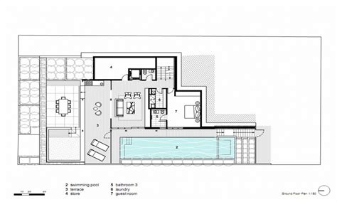 contemporary house designs and floor plans modern house plans concrete