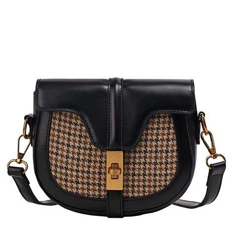 bag bags shoulder saddle lady messenger
