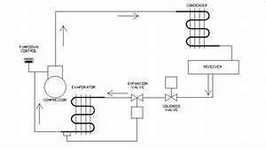 Pump Down Refrigeration System Wiring Diagram