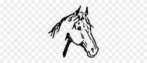 American Quarter Horse Horse Head Mask Pony Drawing Free ...