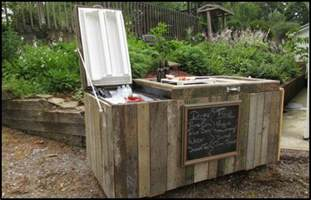 house plans with big kitchens how to turn an fridge into an awesome rustic cooler