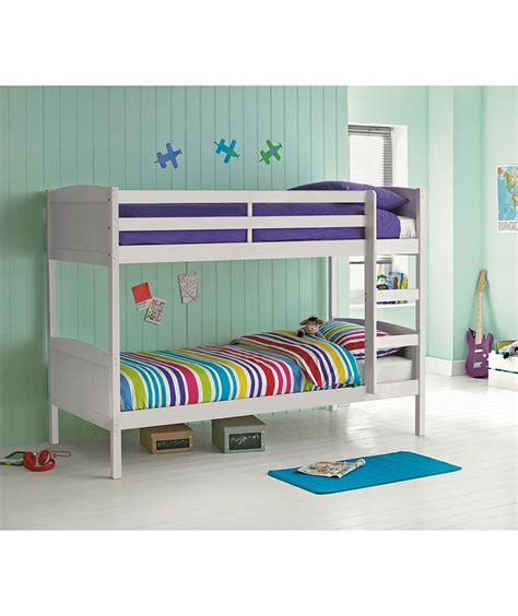 Buy Bunk Beds by Buy Detachable Single Bunk Bed Frame White At Argos Co