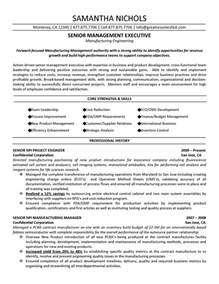Production Engineer Resume Template by Production Sle Resume Sle Resume For Child Care