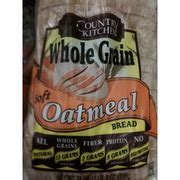 country kitchen nutrition country kitchen soft oatmeal bread calories nutrition 2848
