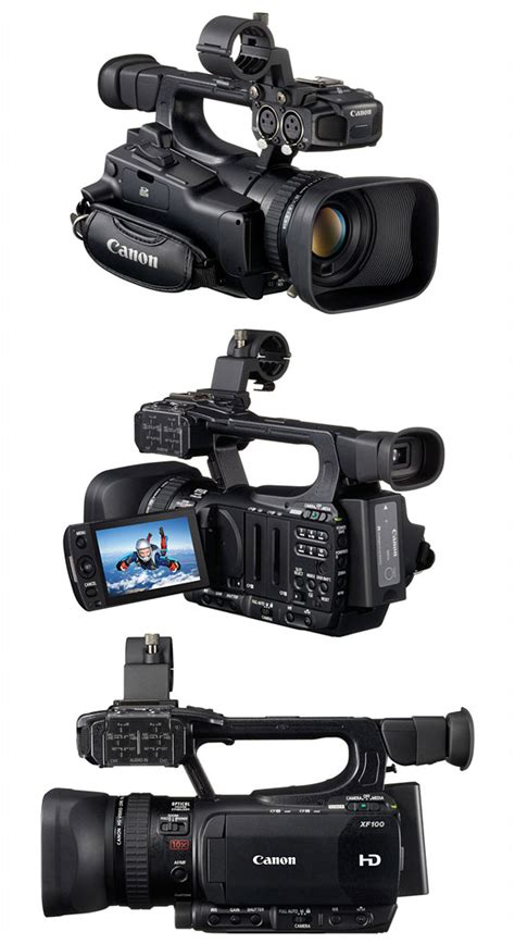 Canon Xf100 by Canon Xf105 And Xf100 Professional Camcorders