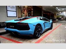 Custom Matte Blue Lamborghini Aventador YouTube