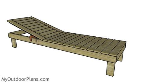 chaise lounge plans myoutdoorplans  woodworking