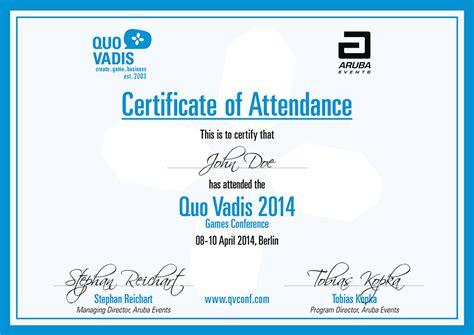 printable attendance certificates blank certificates