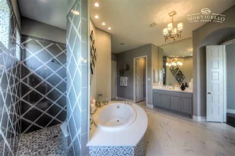 spa master bath  walk  shower garden tub
