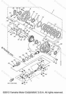 Yamaha Atv 2007 Oem Parts Diagram For Drive Shaft
