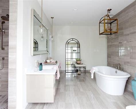 Grey Bathroom Tile Floor gray floor tile home design ideas pictures remodel and decor