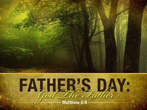 father  heaven powerpoint template fathers day