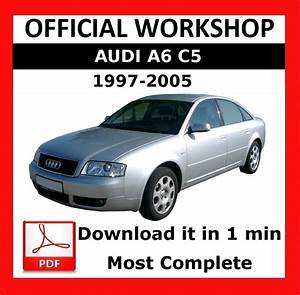 U0026gt  U0026gt  Official Workshop Manual Service Repair Audi A6 C5 1997