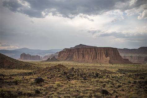 picture landscape desert cloud mountain valley