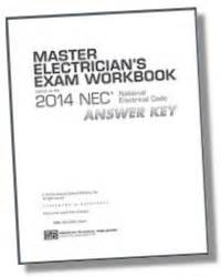 Master Electrician Exam Workbook Based The Nec